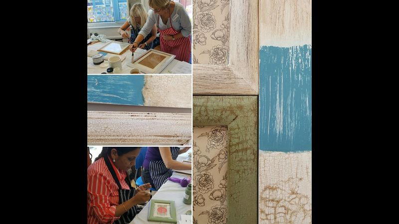 Chalk painting workshop with Craft My Day