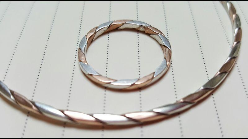twisted metals make fascinating patterns