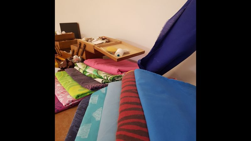 A great selection of fabrics