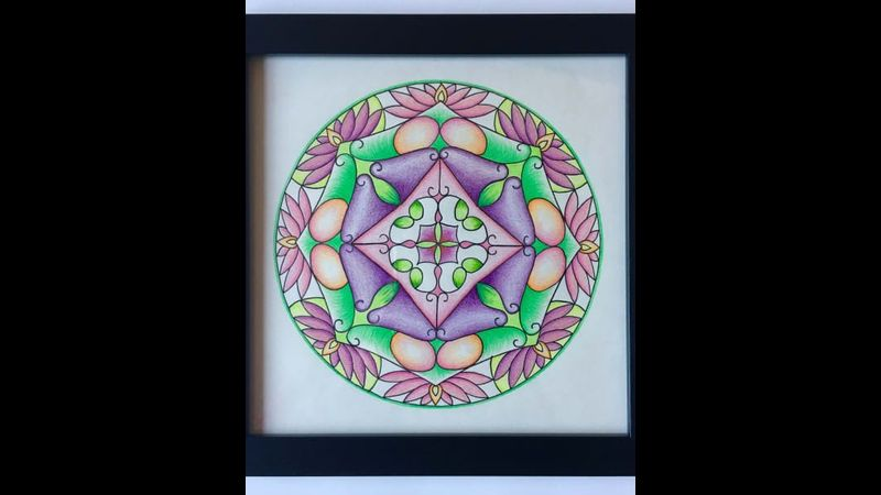 Name mandala workshop with Craft My Day