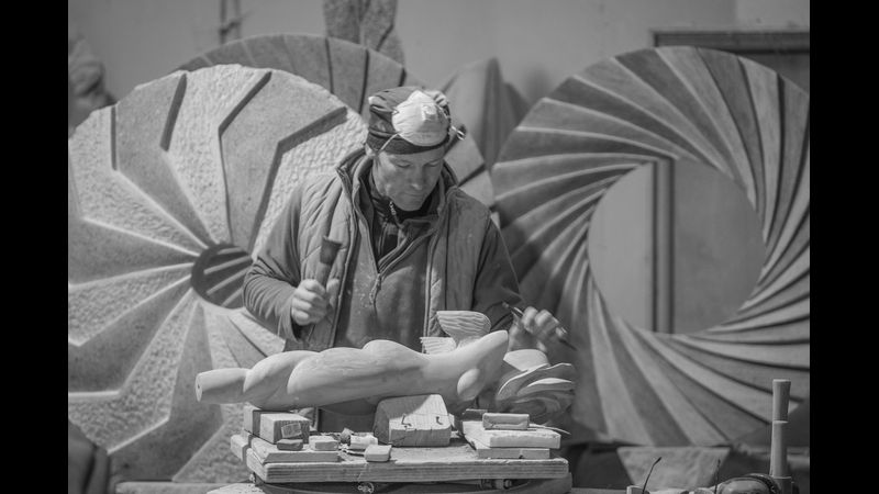 Nicolas Moreton Carving