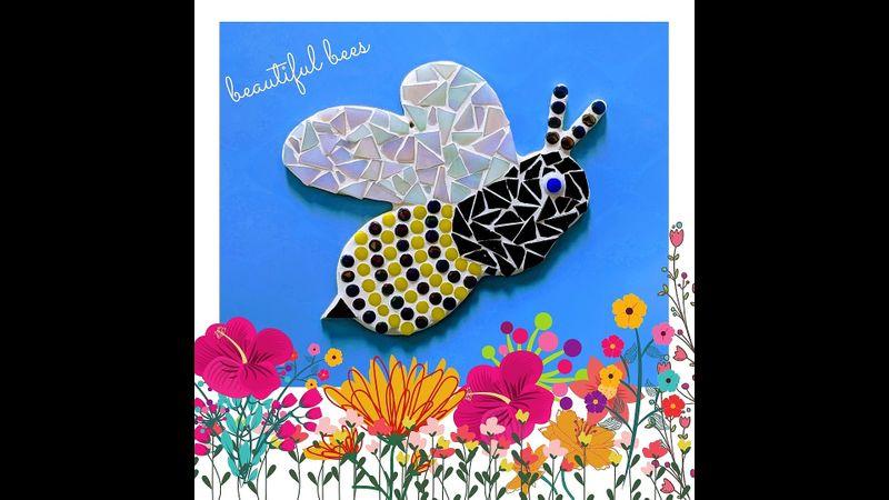 Bee Mosaic Kit