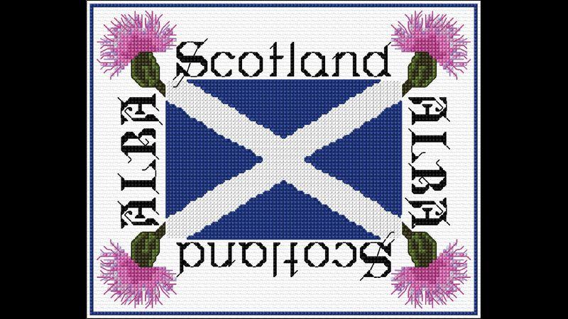 DoodleCraft Design Flower of Scotland