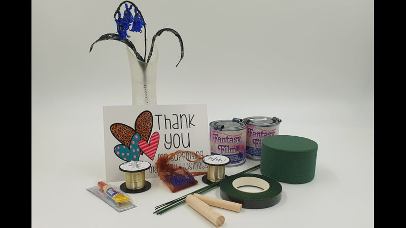 Contents of the Bluebell kit