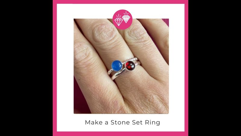 Make a Stone set ring with Hampshire School of Jewellery in Basingstoke