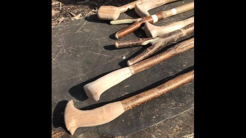 walking stick making day workshop