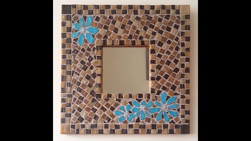 Mosaic making for beginners in Milborne Port, Somerset and Dorset