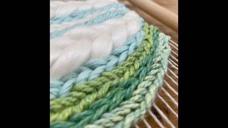 Soumak weaving technique.
