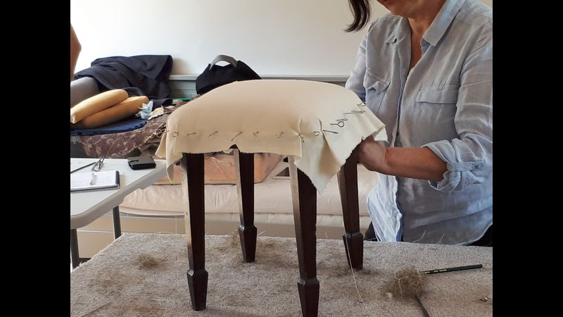 Traditional and Modern Upholstery lessons in Lincolnshire