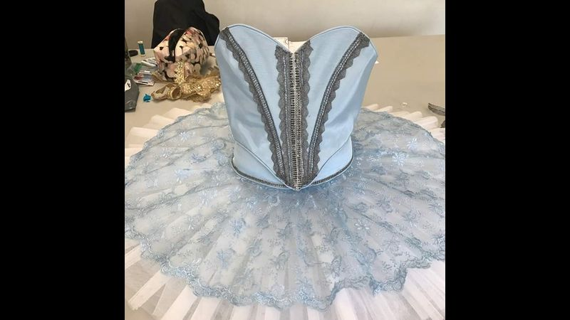 Work from Tutu Making course at Nottingham Trent University