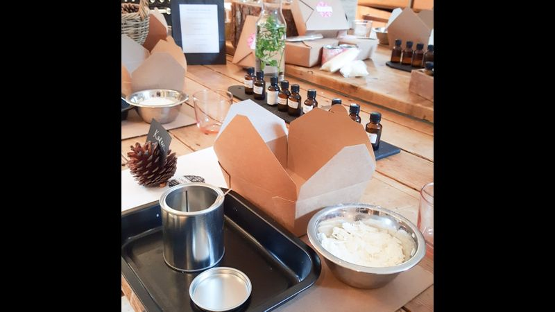Business candle making workshop