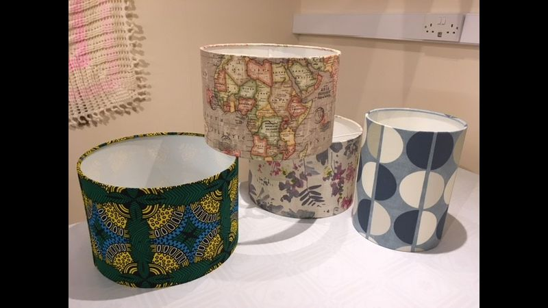 Vintage, Retro & African fabrics for lampshades