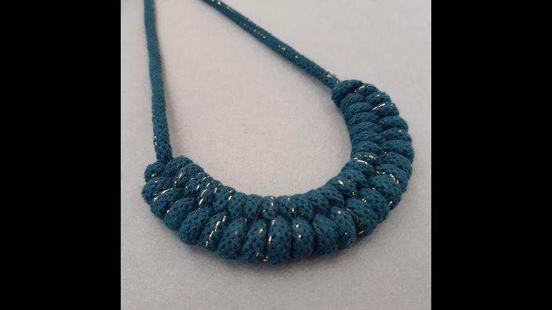 Macrame Woven Necklace