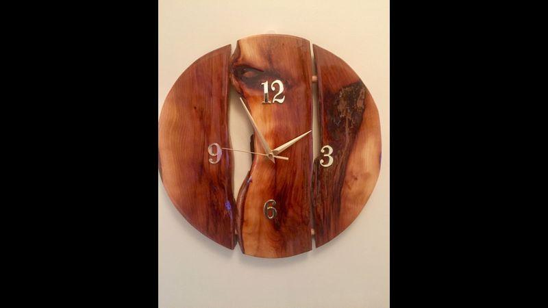English Yew, Wall Clock