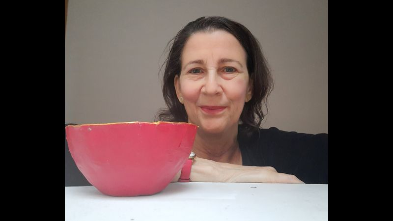 Make a papier-mache bowl with Amanda Jane Ogden