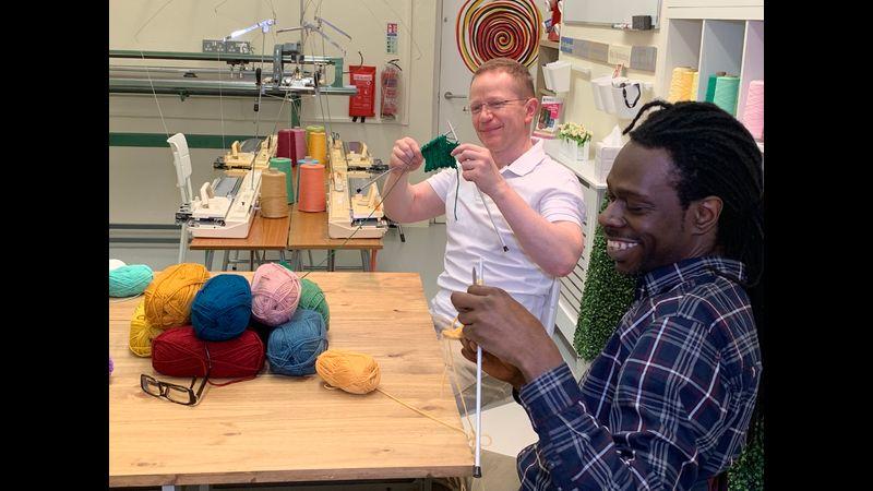 Men's Hand Knitting