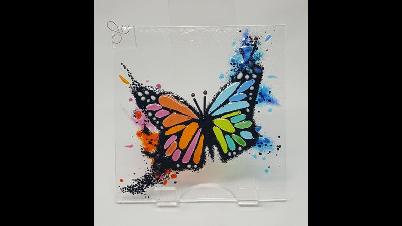 Introduction to Fusing Coursework - Stunning Butterfly
