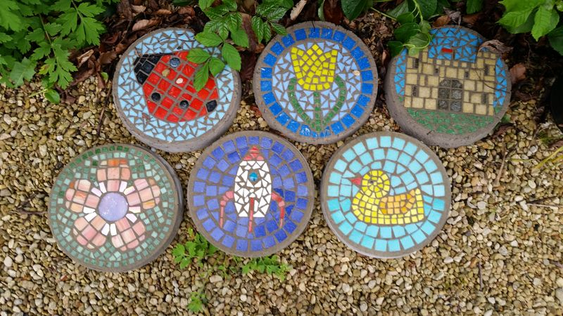 A selection of stepping stone ideas