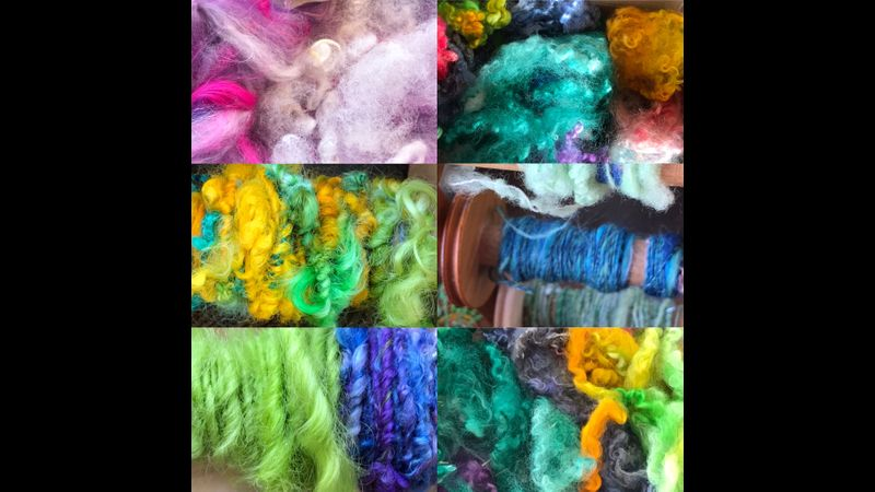 Yarns spun on recent course