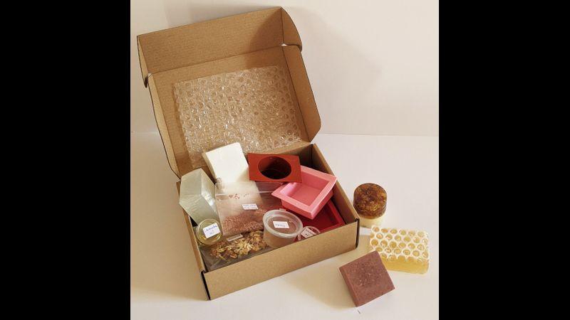 Soap Making kit in postable box