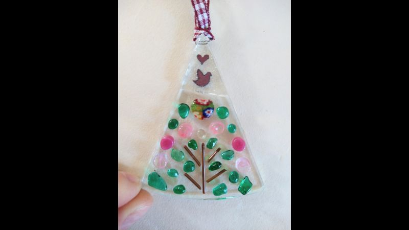 Folk Art Fairy Tale Tree Fused Glass Kit