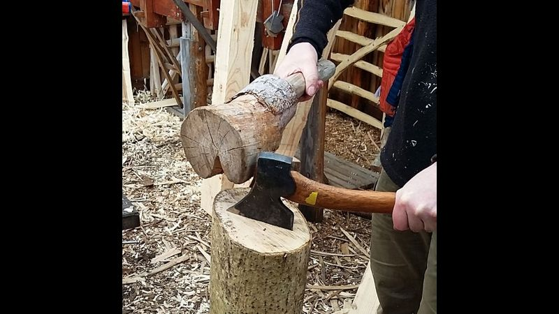 Cleaving the log