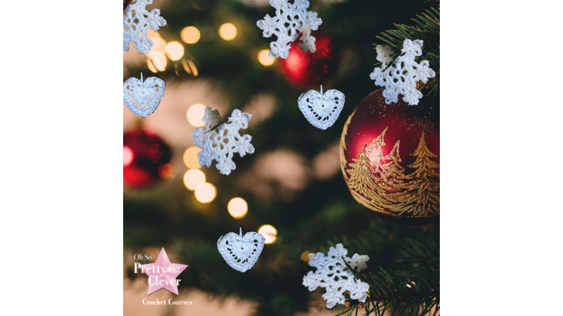 Christmas crochet decorations