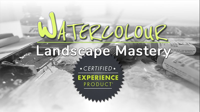 Watercolour Landscape Mastery - 12 Week Online Watercolour Painting Course