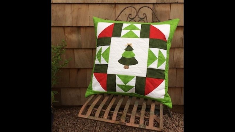 Luxury quilted cushion kit