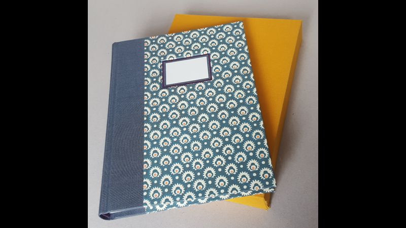 Multi section binding and slipcase