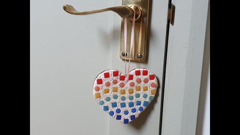 Hanging Mosaic Heart Kit