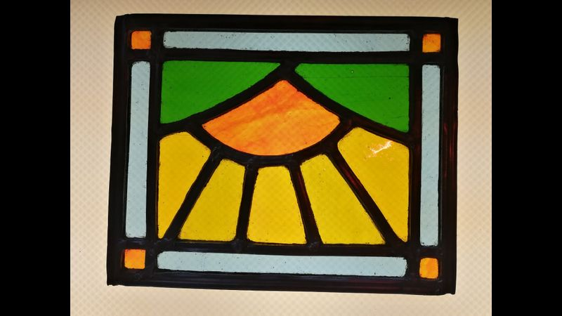 Stained Glass Students Work