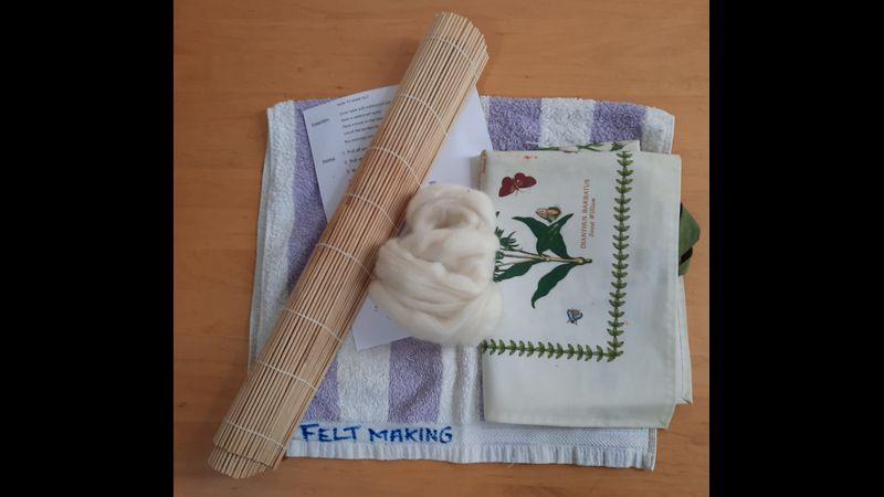 Felt-making equipment