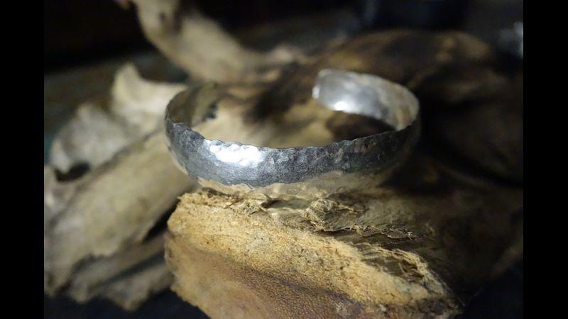 Silver Cuff by Teresa Crickmar