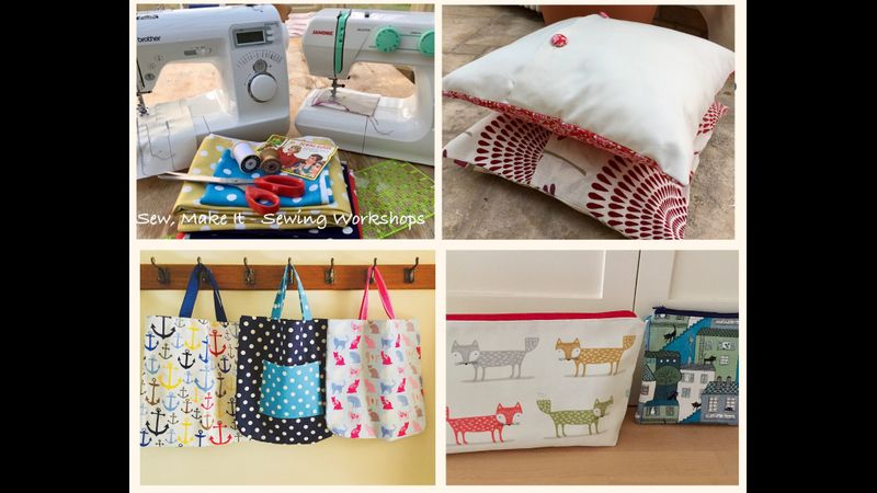 Learn to Sew Course,  Four workshops