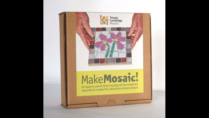 Irises, Beginners Mosaic Kit