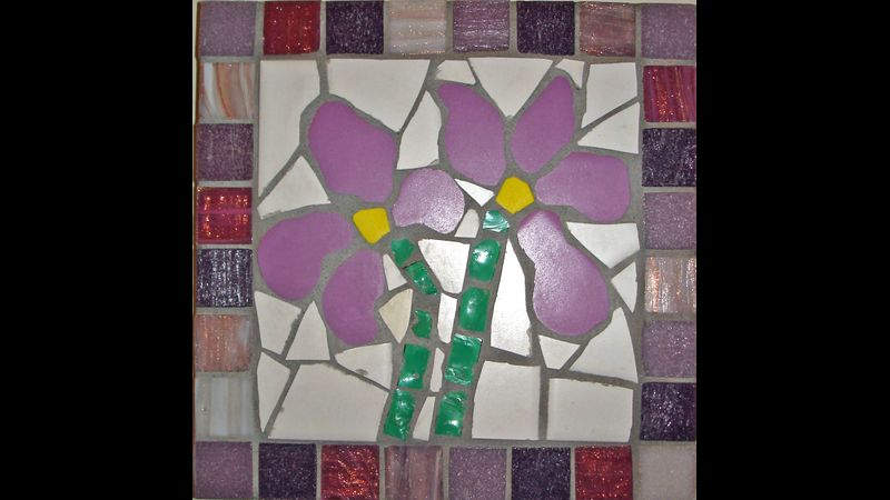 Irises Mosaic