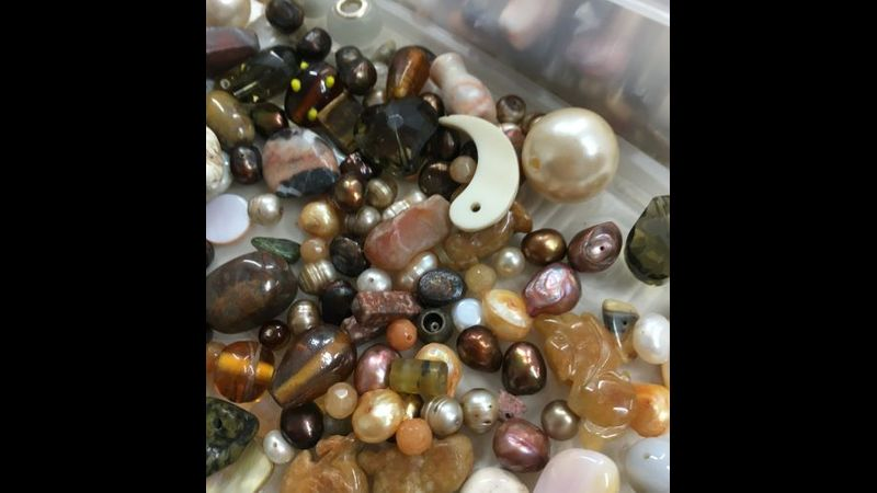 a selection of beads