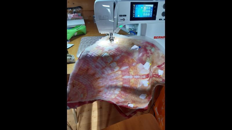 Quilting with your walking foot