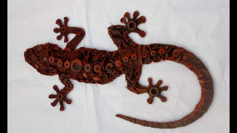 Bronze Gecko