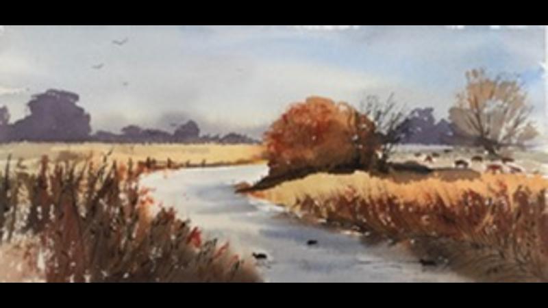 Autumnal Fenland Waterway
