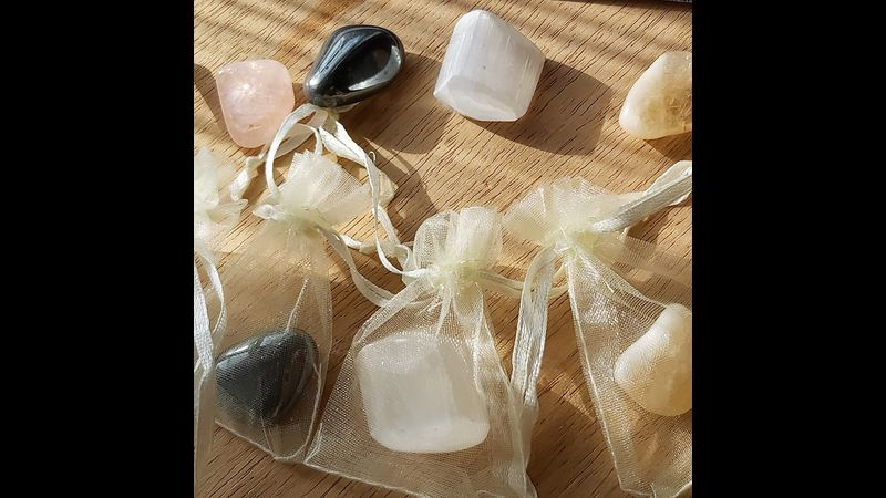 ♥ Each Crystal Has its Own Little Bag ♥