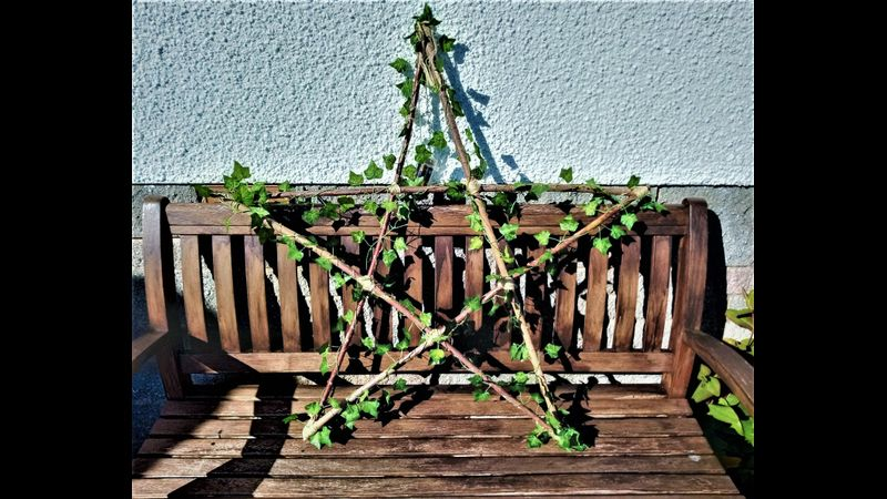 Rustic star light feature