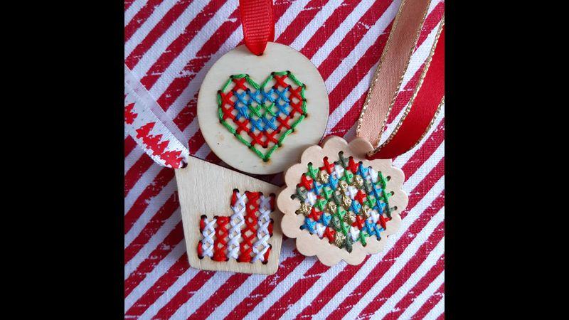 Cross Stitch Decorations Kit