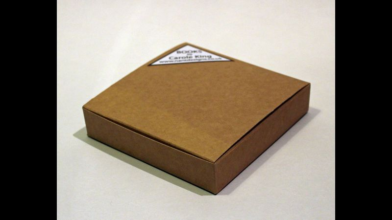 square book box