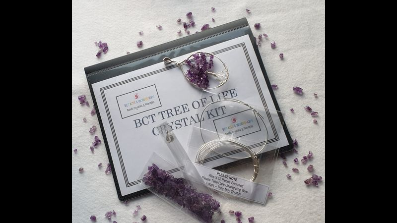Tree of Life Kit with Silver Wires pre-cut ready to use
