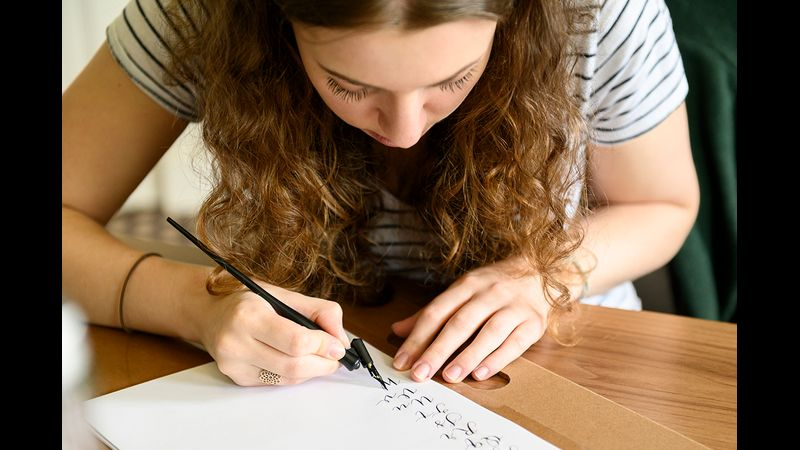 Taking the next steps with calligraphy