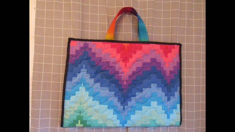 Bargello Tote Bag