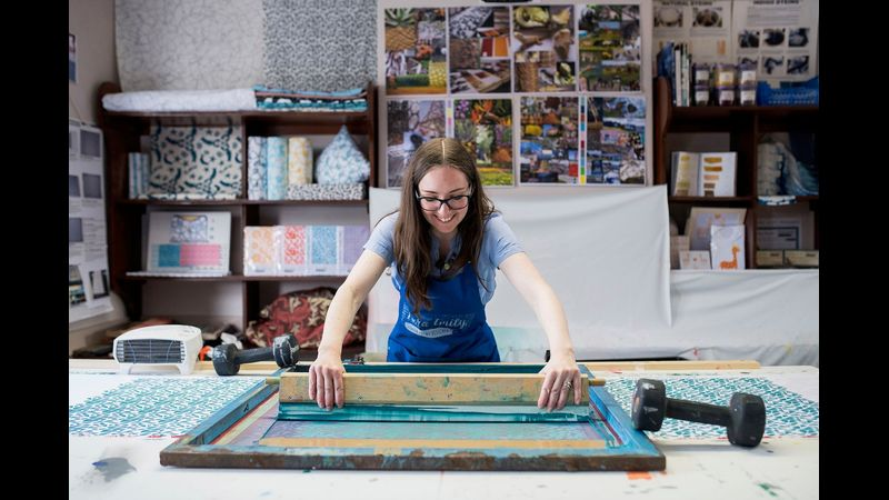 Zara Shepherd Screen Printing