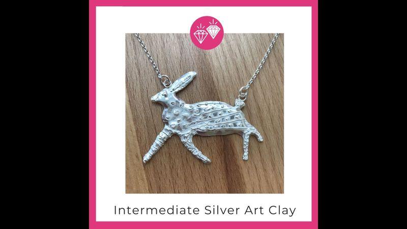 Intermediate silver art clay with Hampshire School of Jewellery